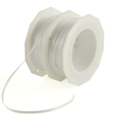 Geschenkbänder Doppelsatin 3 mm weiß