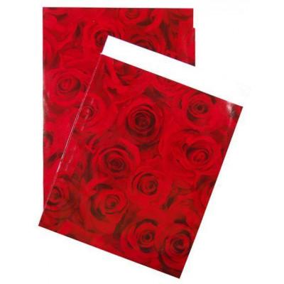 Flachbeutel - Motiv Forever Red