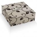 Geschenkpapier - Design Le Jardin chablis - schwarz