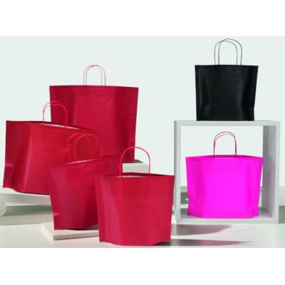 Papiertragetaschen Bottom Bag farbig
