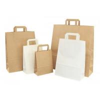 Papiertüten Basic in weiß oder braun