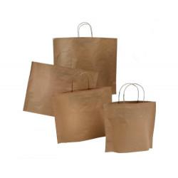 Papiertragetaschen BOTTOM BAG B-Bags Basic braun