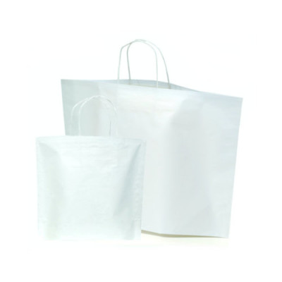 Papiertragetaschen BOTTOM BAG B-Bags Basic weiß