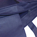 PP non-woven Tasche City Shopper 2 dunkelblau Detail