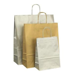Papiertaschen Metallic