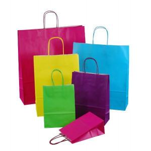 Papiertaschen Color in 9 frischen Farben