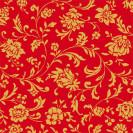 Blumenseide Zauberranke rubin-rot
