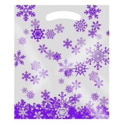 Weihnachtstragetaschen Winterstars (LDPE)