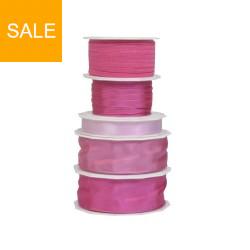 """Geschenkbänder Set """"add a little pink"""""""