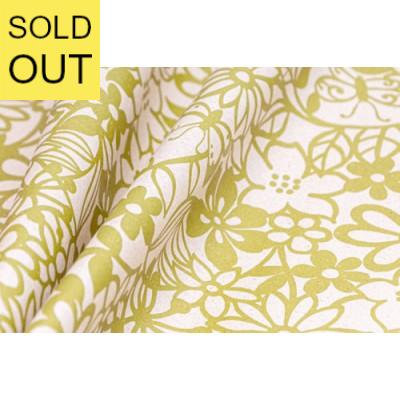 Blumenseidenpapier Fiorito grün (Graspapier)