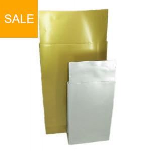 Blockbodenbeutel Präsent - Gold & Silber