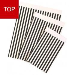Flachbeutel - Motiv Stripes