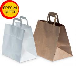 Konditortaschen in weiß oder braun