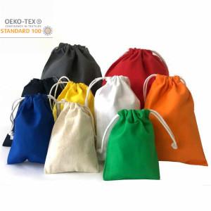 Kordelzugbeutel  Petit Laundry aus Baumwolle farbig