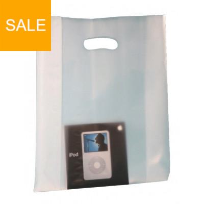 Plastiktragetaschen MILETTE mit Seitenfalte