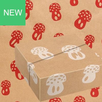Geschenkpapier Fungi