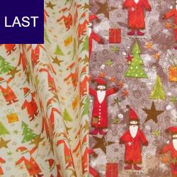 Geschenkpapier Santa Claus
