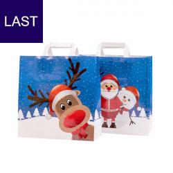 Weihnachtstragetasche Rudi & Friends PP woven (BOPP)