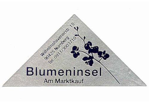 Blumenhaus Etikett