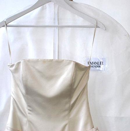 Brautkleidersack bedruckt