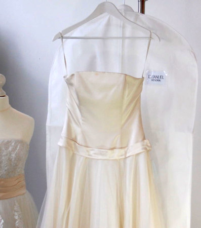 Brautkleidersäcke bedrucken