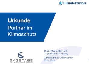 Climate Partner Zertifikat