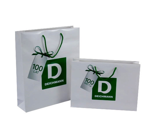 Deichmann Papiertragetaschen Logo