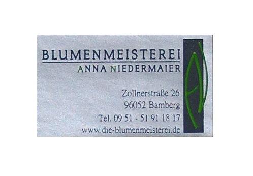 Etiketten Blumenmeisterei