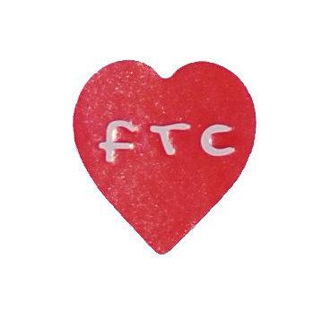 Etiketten Herzform