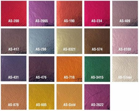 Farben glänzend pp-non-woven Taschen