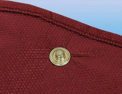Kleidersack Druckknopf Beispiel