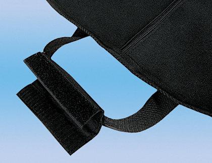 Kleidersack Griff Klettverschluss