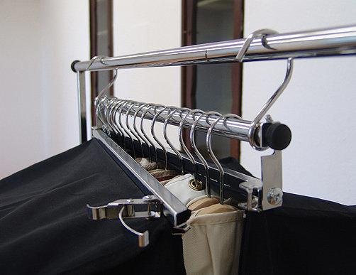Kollektionssack Schiene Vorrichtung Druck