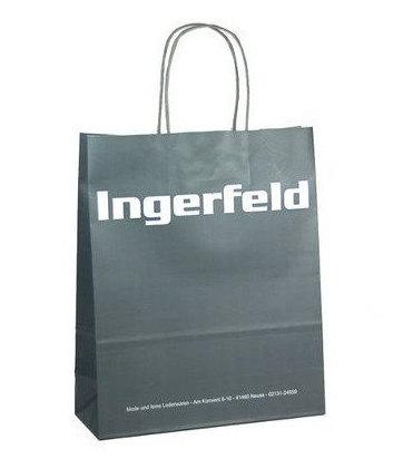 Papiertaschen bedrucken Logo