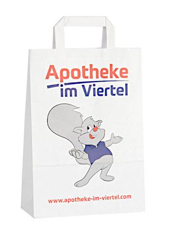 Papiertragetasche Apotheke bedruckt