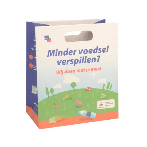 Papiertragetaschen PaperWise Griffloch