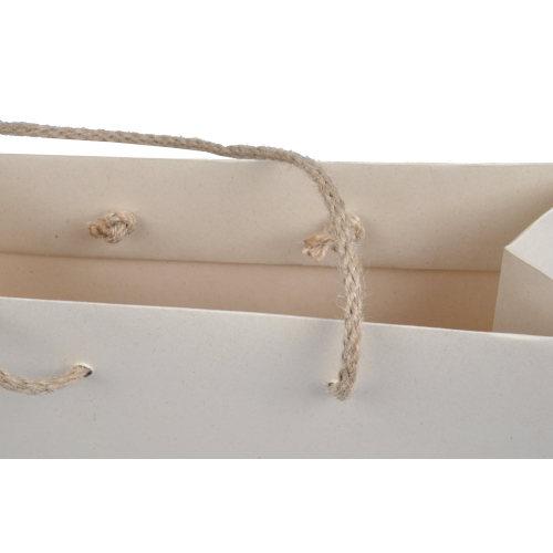 Papiertragetaschen PaperWise Jutekordel Detail 2