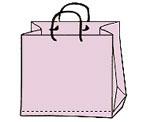 Plastiktaschen Corda Strichzeichnung