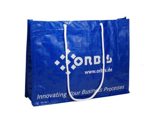 PP woven Tasche Logo