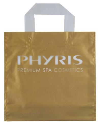 Schlaufentasche bedrucken Gold