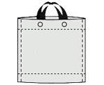 Schlaufentasche Strichzeichnung