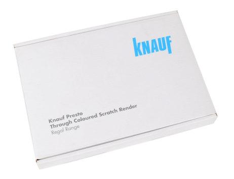 Versandkarton Knauf geschlossen